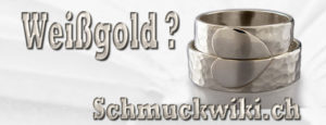 Qual der Wahl: Palladiumeheringe oder Weissgoldeheringe